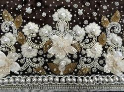 Embroidered Pearl Hand Work