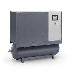 7.5 HP Atlas Copco Oil Injected Rotary Screw Compressor