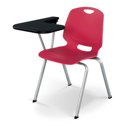 Training Room Chairs With Writing Table