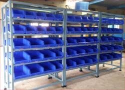 Plastic Bin Storage Rack At Rs 8000 /piece | Bin Racks | ID: 12987343912