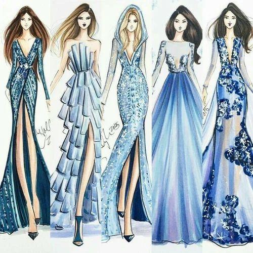 Fashion Illustration Fashion Designing Courses Sayujata Fashions Pune Id 17939933162