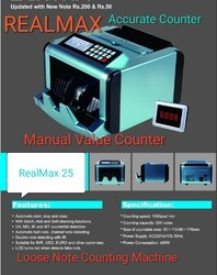 RealMax 25 Loose Note Counting