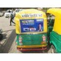 Auto Rickshaw Branding Service, Mode Of Advertising: Offline