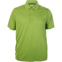 Polyester Plain Mens Polo T-Shirts