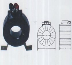 KEW Copper Insulated Current Transformer, For Industrial, Accuracy Class: 0.5