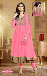Party Wear Soft Net Stylish Anarkali Suit
