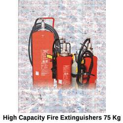 High Capacity Fire Extinguishers 75 Kg