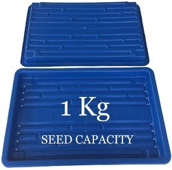 Hidroponic plastic tray