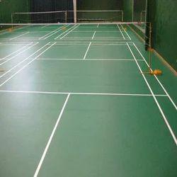 Asian Flooring Polyvinyl Chloride PVC Indoor Sports Flooring