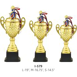 Gold Metal Cup Trophy