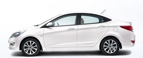 Verna Car In Pure White Colour View Specifications Details Of