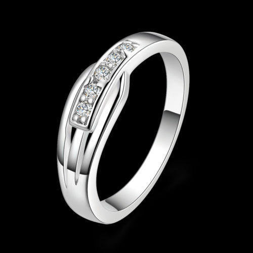 9beeec50e SILVERHANDICRAFTSECOND - Women 925 Sterling Silver Plated Fashion ...