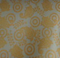Non Woven Metallic Printed Fabric