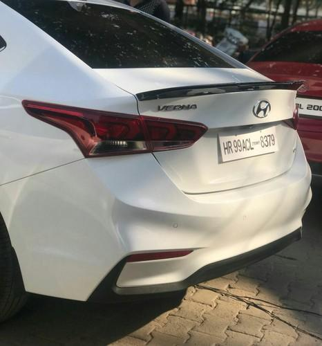 Hyundai Verna Lip Spoiler Usage Garage