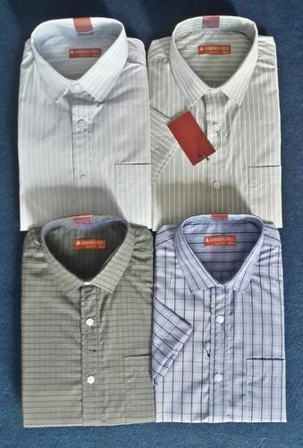 Linen Shirt - Mens Striped Shirts Manufacturer from Ahmedabad