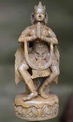 Sandstone Svagata Sculpture