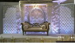 Cloth & Fiber Wedding Stage