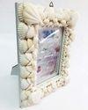 White Seashell Photo Frame