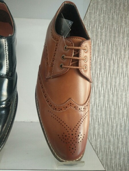 Men Formal Dark Brown Shoes