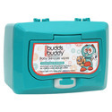 White Buddsbuddy Baby Wet Wipes Canister