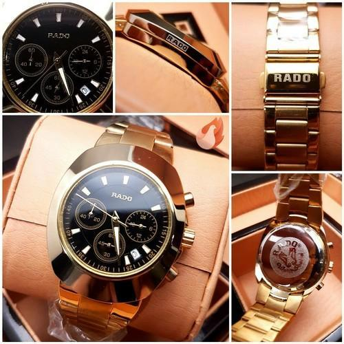 ed38c5bc8b1 Golden And Sliver Metal Body Rado Wrist Watch