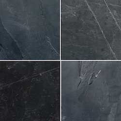 Black Slate, Thickness: 15- 25 Mm