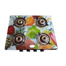 4 Burner Top Glass Stove