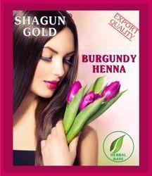 Henna Burgundy Hair Powder