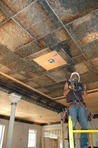 Metal Ceiling Installation Service