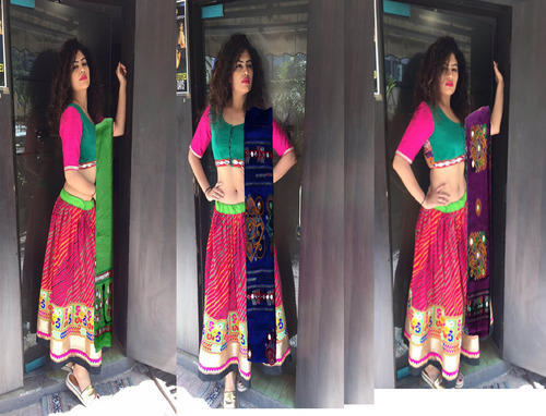 de2c02cb3597a6 Aglare Laheriya1 Embroidered Chaniya Choli at Rs 1200 /piece(s ...