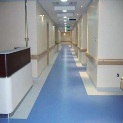 Homogeneous PVC Flooring