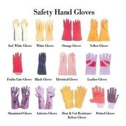 All Type Of Rubber Industrial Gloves