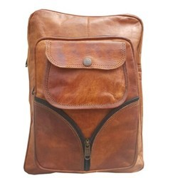 Genuine Leather Laptop Backpack BP106
