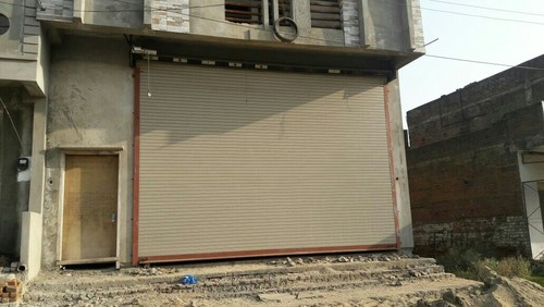 Full Height Motorized Rolling Shutter