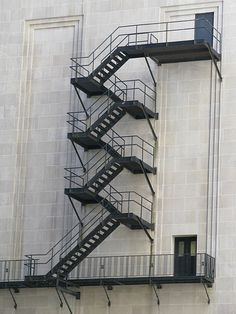 Beau Fire Exit Stairs