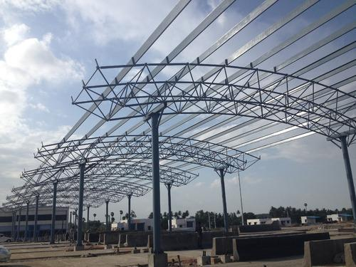 arch type space frame