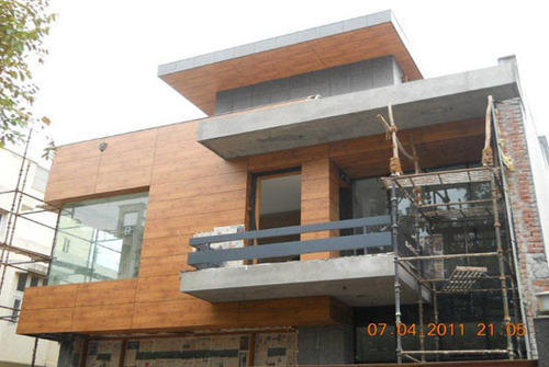 Front Elevation Noida : Front elevation hpl high pressure laminate