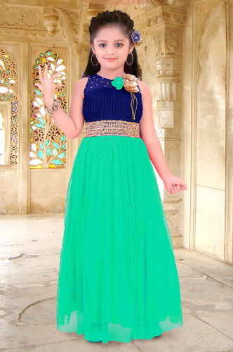 8820da2da Kids Long Gown - Kids Gown Manufacturer from Mumbai