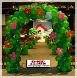 Baloon Decoration And Music Program With Anchor