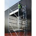 Double Width Scaffold without Stair on Hire