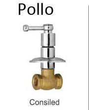 Pollo Concealed Bathroom Accessories