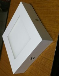 12w Square Surface Panel Light