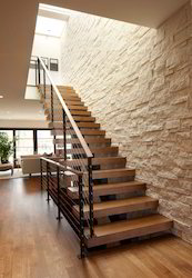 Staircase Stone Wall Stacking, Thickness: 10-15 mm