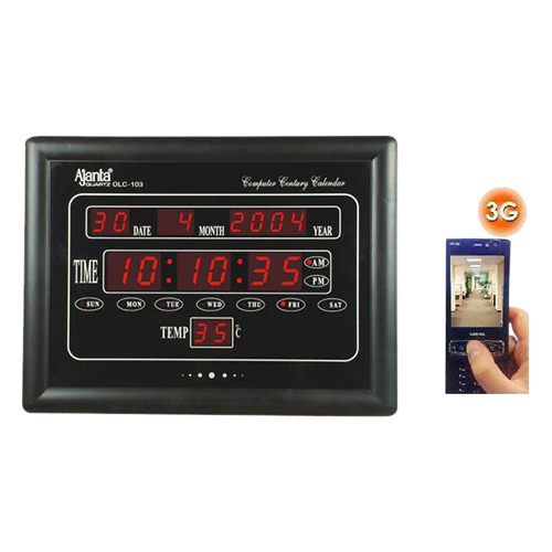 Spy Digital Wall Clock Camera At Rs 8999 Piece Wireless