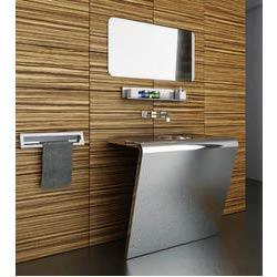 sale retailer 4479b 1f3db Stainless Steel Modular Vanity