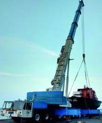 Truck Mounted, Telescopic Crane & Lattice Crane