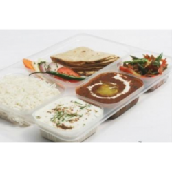 Five Compartment Disposable Thali Lid  sc 1 st  IndiaMART & Disposable Plate in Khandwa ?????????? ????? ...