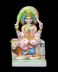 Marble Ambika Mata Statue