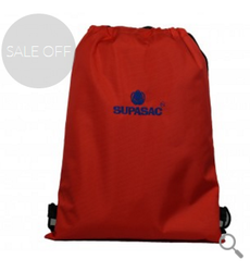Red Supasac String Bag