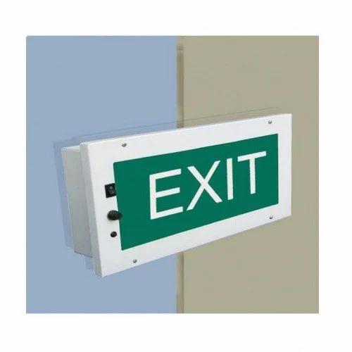 Decorative Exit Egress Lights  El M R